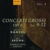 Handel: Concerto Grossi, Op. 6, Nos. 9-12 de Academy Of St. Martin-In-The-Fields (1)
