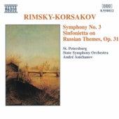 Symphony No. 3 / Sinfonietta by Nikolai Rimsky-Korsakov