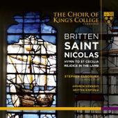 Britten: Saint Nicolas, Hymn to St Cecilia & Rejoice in the Lamb von Various Artists