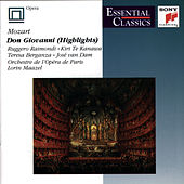 Don Giovanni (Highlights) by Wolfgang Amadeus Mozart