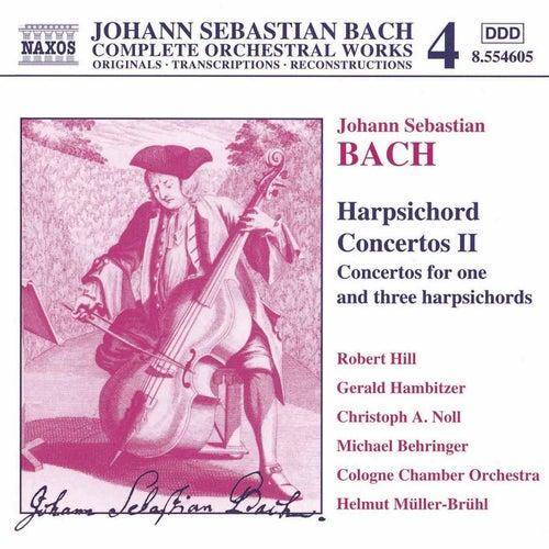Harpsichord Concertos Vol. 2 by Johann Sebastian Bach