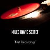 First Recordings de Miles Davis