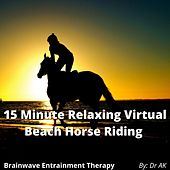 Brainwave Entrainment 15 Minute Relaxing Virtual Beach Horse Riding by Drak