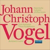 Vogel, J.C.: 3 Symphonies by Reinhard Goebel
