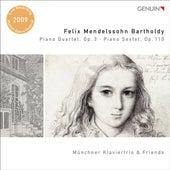 Mendelssohn, Felix: Piano Quartet, Op. 3 / Piano Sextet, Op. 110 von Ruth Elena Schindel