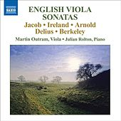 English Viola Sonatas by Martin Outram