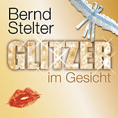 Glitzer im Gesicht von Bernd Stelter