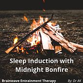 Brainwave Entrainment Sleep Induction with Midnight Bonfire sounds by Drak
