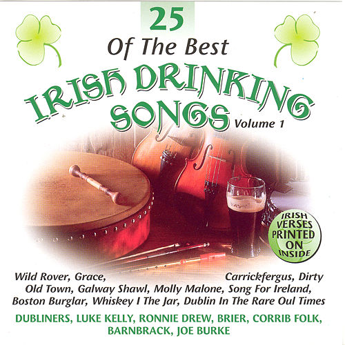 25 Of The Best Irish Drinking Songs - Volume 1 by Various Artists