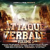 Attaque verbale, Vol. 3 von Various Artists