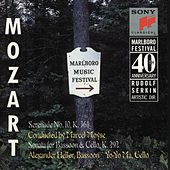 Mozart: Serenade, K. 361; Sonata for Bassoon & Cello, K. 292 de Marlboro Recording Society
