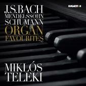 Bach, Mendelssohn & Schumann: Organ Favorites de Miklós Teleki