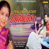 Teri Yaad Sataye Sawan Mein - Single by Asha Bhosle