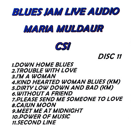 Blues Jam Live Audio: Maria Muldaur by Maria Muldaur