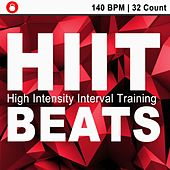 Hiit Beats (140 Bpm - 32 Count Unmixed High Intensity Interval Training Workout Music Ideal for Gym, Jogging, Running, Cycling, Cardio and Fitness) de HIIT Beats