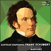 Austrian Composers: Franz Schubert Marches de Classical Piano 101