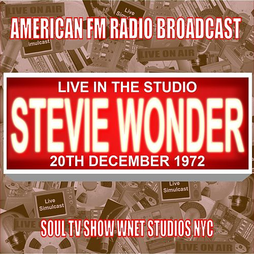 Live In The Studio - Soul TV Show, WNET Studios NYC, NY 1972 von Stevie Wonder