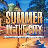 Summer in the City: The Urban Beach Club & After-Work Lounge Playlist, Vol. 5 de Various Artists