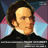 Austrian Composers: Franz Schubert Sonatas Volume 2 by Classical Piano 101