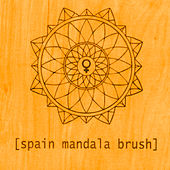 Mandala Brush de Spain