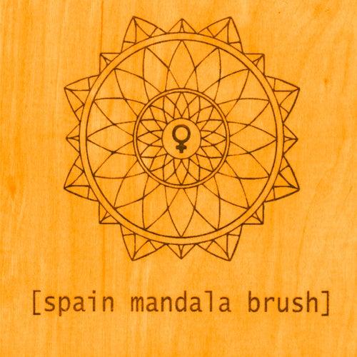 Mandala Brush von Spain