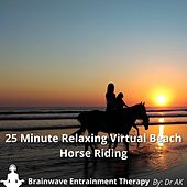25 Minute Relaxing Virtual Beach Horse Riding With Brainwave Entrainment Tones by Drak