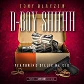 D-Boy Shhhh by Tony Blayzem