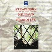 Stravinsky: Puclinella, Ebony Concerto - Milhaud: Scaramouche - Prokofiev: Symphony No. 1 de Various Artists