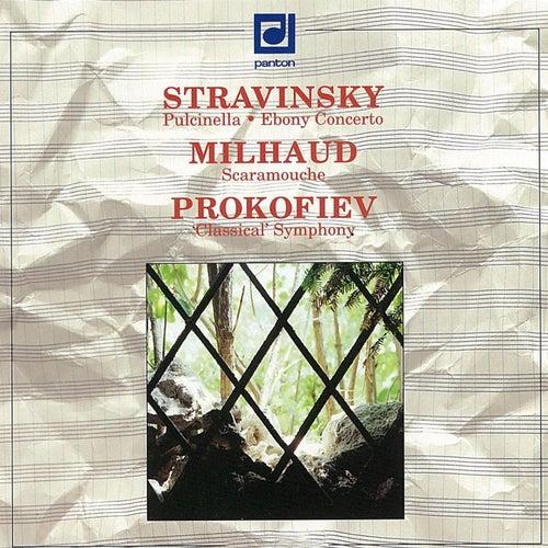 Stravinsky: Puclinella, Ebony Concerto - Milhaud: Scaramouche - Prokofiev: Symphony No. 1 by Various Artists