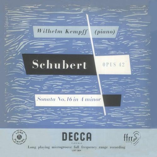 Schubert: Piano Sonatas Nos. 16 & 21 by Wilhelm Kempff
