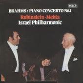 Brahms: Piano Concerto No. 1 by Arthur Rubinstein
