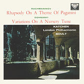 Rachmaninov: Piano Concerto No. 2; Rhapsody on a Theme of Paganini / Dohnányi: Variations on a Nursery Song von Julius Katchen