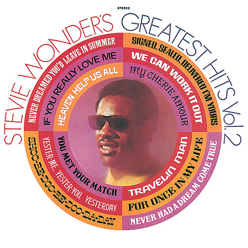 Stevie Wonder's Greatest Hits, Vol.2 by Stevie Wonder