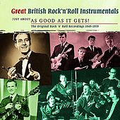 Great British Rock 'n' Roll Instrumentals - Just About As Good As It Gets! de Various Artists