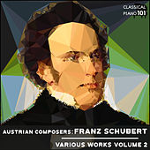 Austrian Composers: Franz Schubert Various Works Volume 2 by Classical Piano 101
