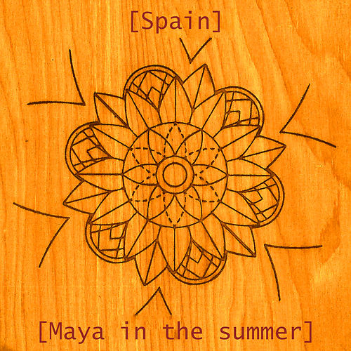 Maya in the summer by Spain