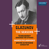 Glazunov: The Seasons, Op. 67 - Tchaikovsky: Serenade for Strings, Op. 48 by Zagreb Philharmonic Orchestra