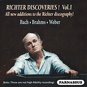 Richter Discoveries, Volume 1: Bach, Brahms, Weber von Sviatoslav Richter