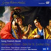 Handel, G.F.: Alexander's Feast / Ode for St. Cecilia's Day by Peter Neumann