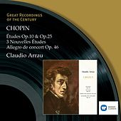 Chopin: Études Op.10 and Op.25 von Claudio Arrau
