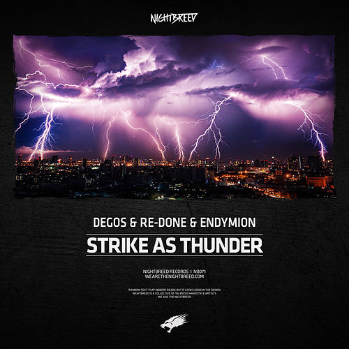 Strike As Thunder by Degos