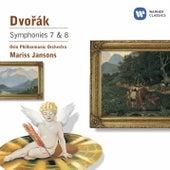 Dvorák: Symphony Nos 7 & 8 by Various Artists