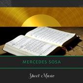 Sheet Music by Mercedes Sosa