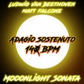 Moonlight Sonata Adagio Sostenuto 140 BPM by Matt Falcone