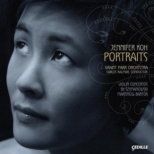 Martinu / Szymanowski: Violin Concertos / Bartok: 2 Portraits by Jennifer Koh