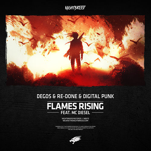 Flames Rising by Degos