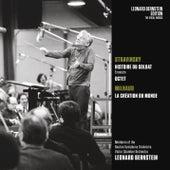 Stravinsky: Historie du soldat & Octet - Milhaud: La Création du monde, Op. 81 de Leonard Bernstein / New York Philharmonic
