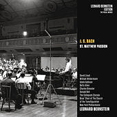 Bach: St Matthew Passion, BWV 244 de Leonard Bernstein / New York Philharmonic