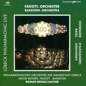 Honegger, A.: Symphony No. 1 / Alessandro, R. D': Bassoon Concerto, Op. 75 (Lubeck Philharmonic Live, Vol. 3) by Roman Brogli-Sacher