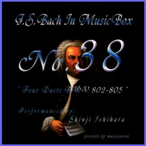 Bach In Musical Box 38/Four Duette Bwv 802-805 by Shinji Ishihara